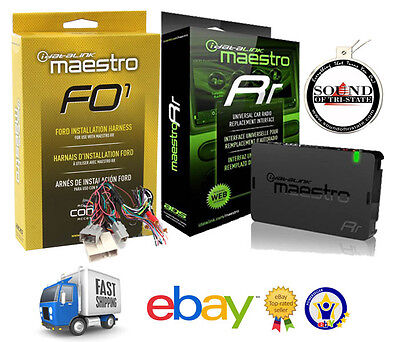ADS Maestro iDataLink Steering Wheel Interface w/ T Harness 2006 UP Ford Pkg