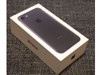 iPhone 7 Black 32 GB. BRAND NEW with receipt