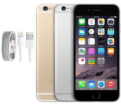 SELLER REFURBISHED APPLE IPHONE 6 UNLOCKED SMARTPHONE - ALL COLOURS - GRADE A/B/C - 12M WARRANTY