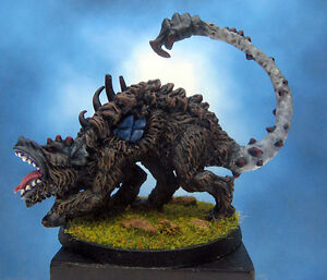 Painted-Chainmail-Miniature-Abyssal-Ravager