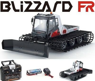 Kyosho 34901B Blizzard FR RTR ReadySet All Terrain Belt Vehicle w Battery Radio