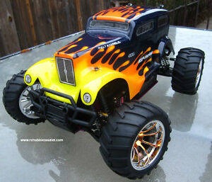 New RC Nitro Truck, 4WD, 2.4G , 1/10 Scale