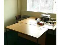 140 sq ft 2 Person Office Space to Let