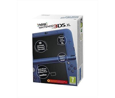 Galleria fotografica Console NINTENDO - New Nintendo 3DS XL Blu Metallico Compatibile 3D