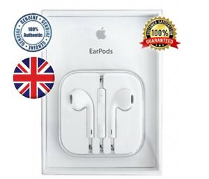 Genuine Apple Earpods Headphones Handsfree/Mic Iphone 5 5c 6 6s