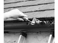 Gutters and down pipes cleared, unblocked, repaired and cleaned. - Russell Property Repairs