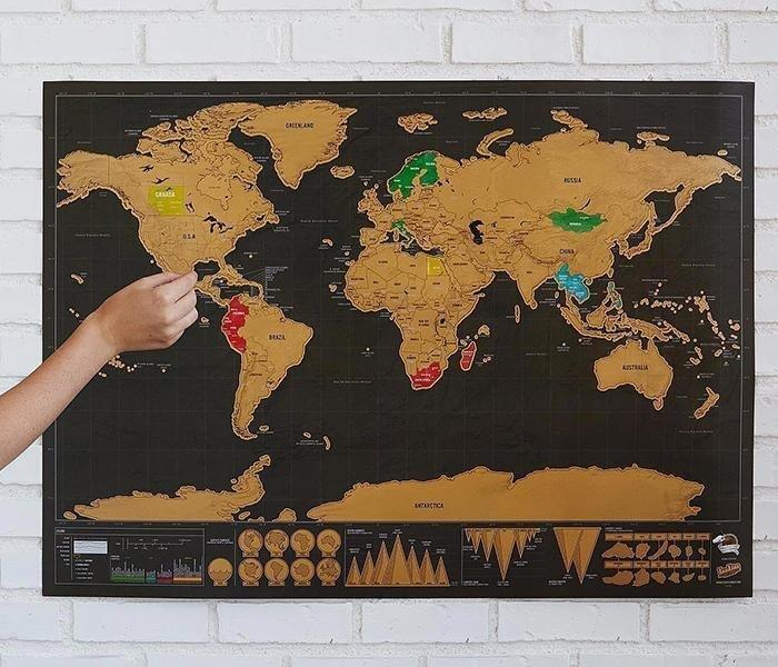 Deluxe scratch off world map in west end london gumtree deluxe scratch off world map gumiabroncs Choice Image