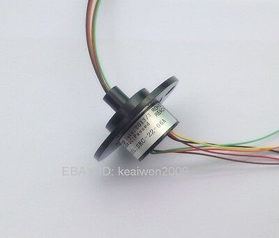 New 22mm 62a 6 Wires 2a 6 Conductors Capsule Slip Ring 240v Ac 300rpm F Monitor