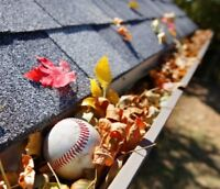 Time to clean your gutters!