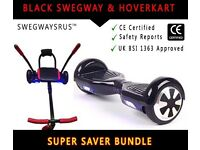 Black Swegway and Hoverkart Bundle- Early bird offer for Christmas