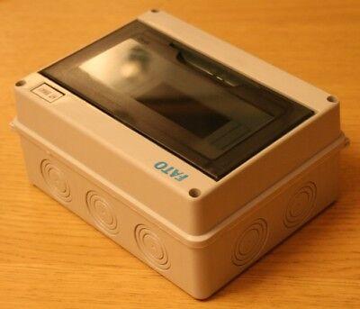 Centralino Cassette quadro elettrico Esterno IP65 da parete 8 Moduli Guida DIN