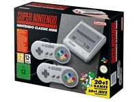 Brand New & Unopened Mini Super Nintendo (SNES)