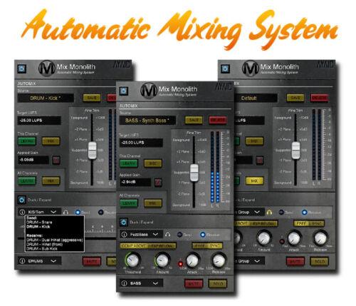 🎧Audio Plugins Mix M0n0lith 0.0.11 VST, VST3, AAX x64🎧