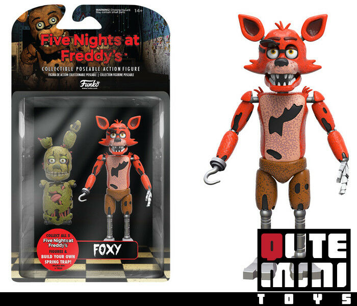 """FUNKO COLLECTIBLE FIVE NIGHTS AT FREDDY'S FOXY 5"""" ACTION FIG"""