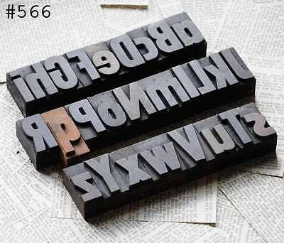A-z Alphabet Mixed Letterpress Wood Printing Blocks Type Woodtype Abc Letterform