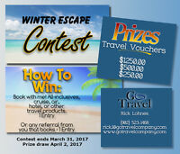 Travel Agent - Win a Travel Voucher!
