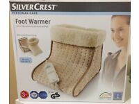 Foot Warmer - Silver Crest - Nearly New
