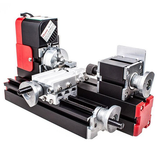 CE Update DIY Miniature Metal Multifunction Machine Lathe machine 20000rev/min