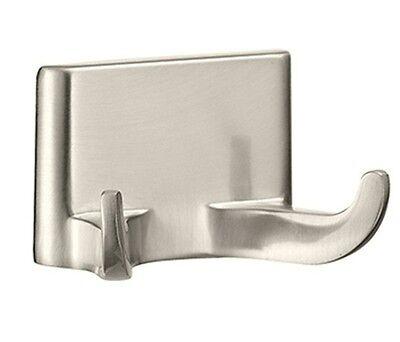 Double Robe Hook Bath Accessories Bathroom Hardware – Brushed Nickel Bath