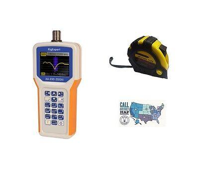 MFJ-249C HF//VHF Antenna Analyzer W//O Meters w// FREE Radiowavz Antenna Tape