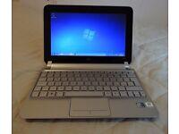 "Hp mini 210 2000, 10"" netbook & charger 250gb hdd, 1gb ram, wifi, webcam, win7, 3x usb ports.vgc £70"