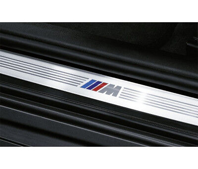 BMW OEM Stainless M Logo Door Sills E92/E93 Coupe Convertible 3-Series 2007-2013