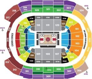 #Raptors Season Tickets.Every game 2018-2019.Section 308,Row 14#