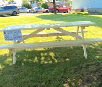 8 foot long picnic tables