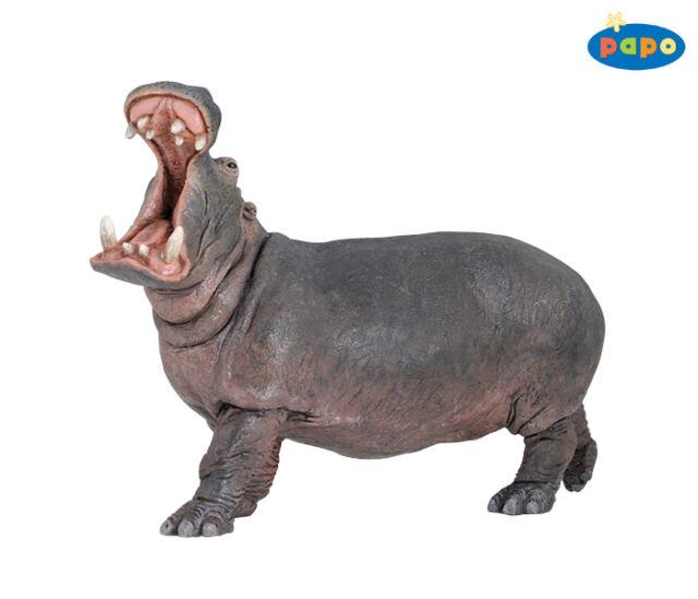 Nilpferd 14 cm Wildtiere Papo 50051