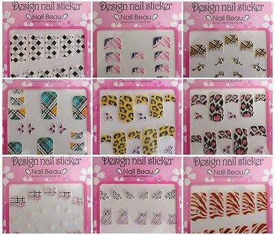 Luxury Rhinestones New Nail Art Sticker Design 9 sheets Wraps Patch Style KOREAN