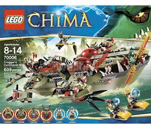 LEGO Chima Cragger's Command Ship 70006 Set Craggers Legends of