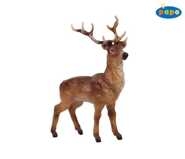 Stag 14,0 cm wild animals Papo 53008