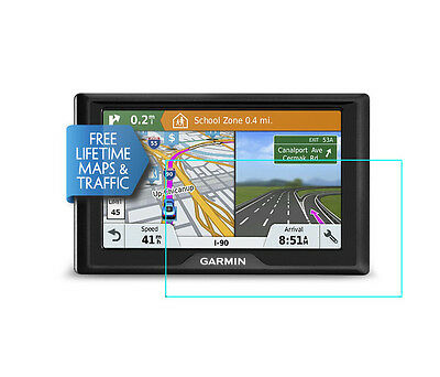 Crystal Clear Screen Protector for Garmin Drive 51