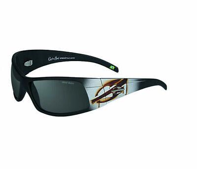 MORMAII Sunglasses Gamboa Street Eyewear Black Frame with hand painted design