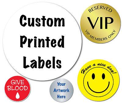 2 Inch Circle Custom Printed Labels, Peel & Stick, Roll of 2,000 Stickers](Custom Roll Stickers)