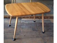 Vintage Ercol Elm Top Occasional Table