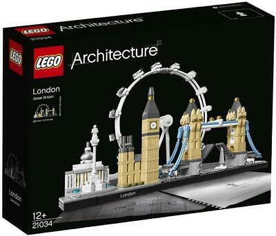 LEGO Architecture London Skyline 21034 BNIB Brand New and Sealed Lot #8
