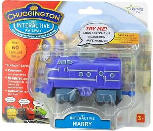 Chuggington LC55011DE - Harry Schlaue und interaktive Lok