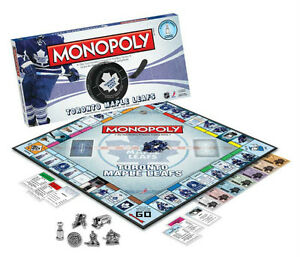 Toronto Maple Leafs Monopoly at JJ Sports
