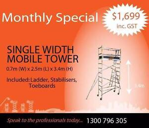 Synergy Scaffolding Aluminium – 3.4 x 0.7x 2.5 Revesby Bankstown Area Preview