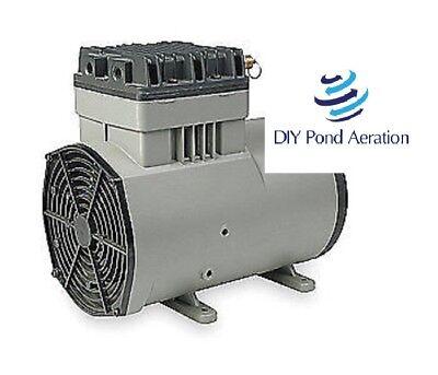 New Thomas Model 1207pk80 Vacuum Pump Compressor 25.9hg 120psi Vending Air 34hp
