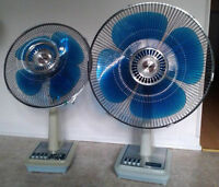Buying 70's and 80's Electric Fans With Four Blades