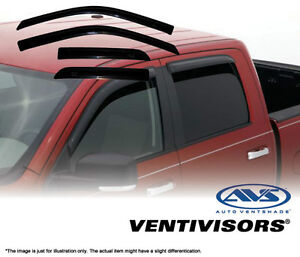 AVS Rain Guard - 2009-2015 Dodge Ram Quad Cab