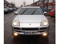 2005 PORSCHE CAYENNE 3.2 V6 S AUTOMATIC SATNAV FULL HEATED LEATHERS PX RANGE ROVER X6 Q7 4X4 PX SWAP