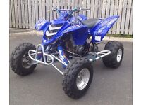Yamaha raptor 660r quad atv banshee trx Yfz half road legal