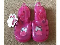 Brand new Hello Kitty Jelly Shoes