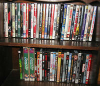 DVDs - $3 each, or 5 for $10