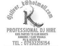 DJ wanted? Pro Club,mobile,wedding,engagement,birthday,kids party.PLI & Access NI certs .Belfast