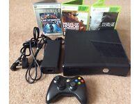 250GB Xbox 350 slim + 10 games