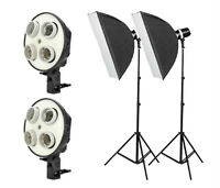 2400w Fluorescent Continuous Lighting Kit
